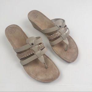 Ugg Maddie Cork Wedge Sandal 9